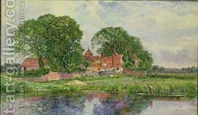 The Old Manor House by Heywood Hardy - Reproduction Oil Painting