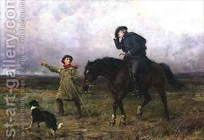 Duty by Heywood Hardy - Reproduction Oil Painting