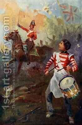 Keep it up said the Chief I shall not forget it frontispiece from Grant the Grenadier by Captain Edward Henry Handley-Read - Reproduction Oil Painting