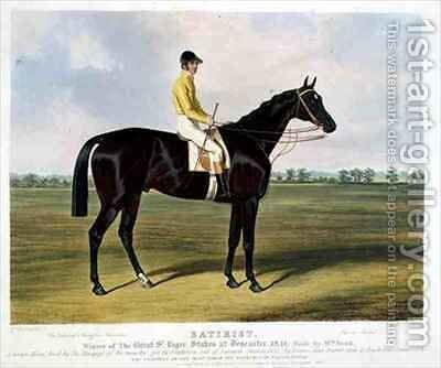 Satirist Winner of the Great St Leger Stakes at Doncaster by Charles Hancock - Reproduction Oil Painting