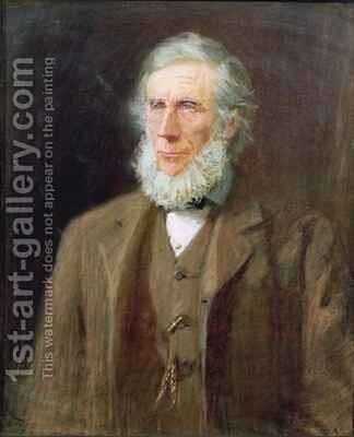 Portrait of John Tyndall 1820-93 by Florence E. Haig - Reproduction Oil Painting
