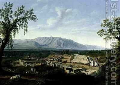 Pompeii by Jakob Philippe Hackert - Reproduction Oil Painting