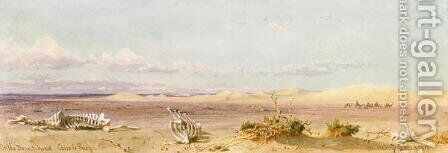 Sand Hills in the Desert Cairo Suez by Carl Haag - Reproduction Oil Painting
