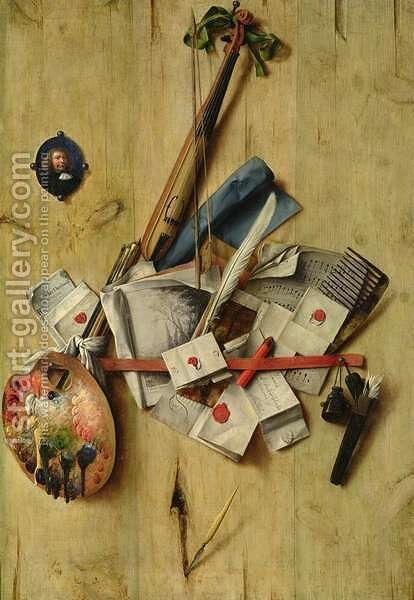 Still Life by Cornelis Norbertus Gysbrechts - Reproduction Oil Painting