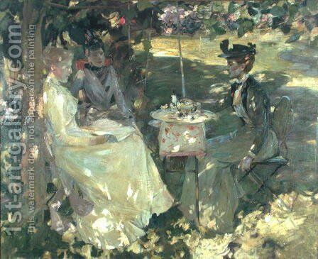 Midsummer by Sir James Guthrie - Reproduction Oil Painting