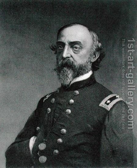 George Gordon Meade 1815-72 by (after) Gutekunst, Frederick - Reproduction Oil Painting