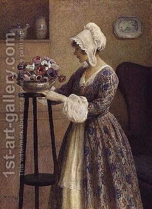 Memories by Catherine B. Gulley - Reproduction Oil Painting