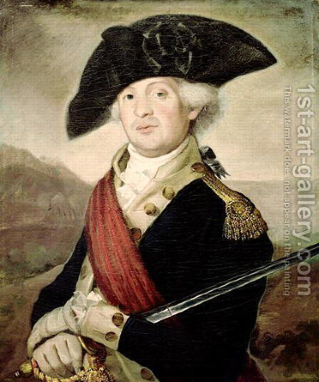 Colonel John May by Christian Gullager - Reproduction Oil Painting