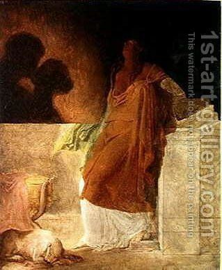 Jealousy by Baron Pierre-Narcisse Guerin - Reproduction Oil Painting