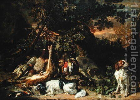 Rewards of the Hunt by Adriaen de Gryef - Reproduction Oil Painting