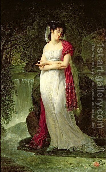 Christine Boyer 1776-1800 by Antoine-Jean Gros - Reproduction Oil Painting