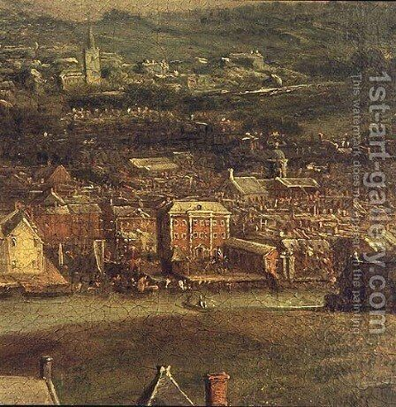 View of Cork by Nathaniel Grogan - Reproduction Oil Painting