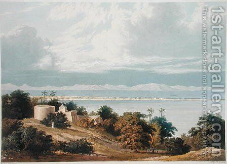 Approach of the Monsoon Bombay Harbour by (after) Grindlay, Captain Robert M. - Reproduction Oil Painting