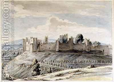 Ludlow Castle by Moses Griffith - Reproduction Oil Painting