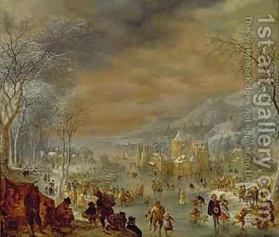 Winter by Jan Griffier - Reproduction Oil Painting
