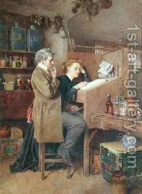 Something Wrong Somewhere by Charles Green - Reproduction Oil Painting