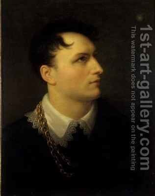 Bernhard August von Lindenau by Giuseppe or Josef Grassi - Reproduction Oil Painting