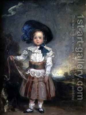 Admiral Lord Charles Scott as a Boy by Sir Francis Grant - Reproduction Oil Painting