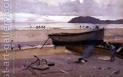 Low Tide by Carleton Grant - Reproduction Oil Painting
