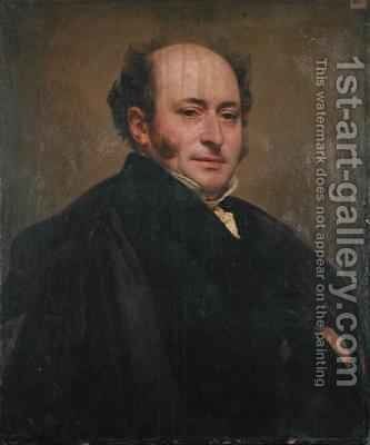 Self Portrait by Jean Pierre Granger - Reproduction Oil Painting