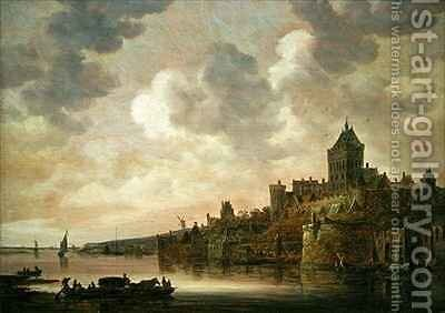 The Valkhof at Nijmegen by Jan van Goyen - Reproduction Oil Painting