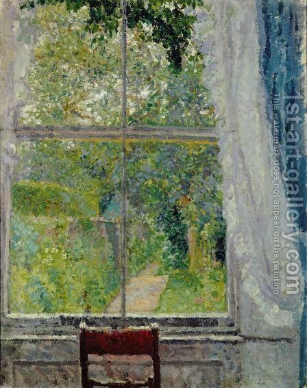 View from a Window by Spencer Frederick Gore - Reproduction Oil Painting