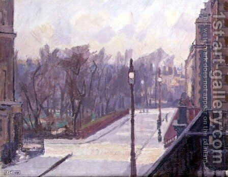 Hartington Square by Spencer Frederick Gore - Reproduction Oil Painting