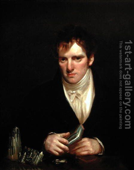 Portrait of Thomas Allan 1777-1833 by Sir John Watson Gordon - Reproduction Oil Painting