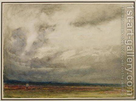A Gathering Storm by Albert Goodwin - Reproduction Oil Painting