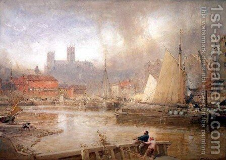 Lincoln by Albert Goodwin - Reproduction Oil Painting