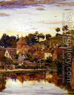 Winchester by Albert Goodwin - Reproduction Oil Painting