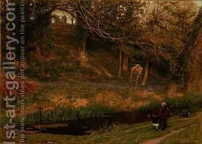 Pleasant Land by Albert Goodwin - Reproduction Oil Painting