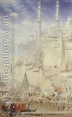 Benares by Albert Goodwin - Reproduction Oil Painting