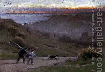 Hastings 2 by Albert Goodwin - Reproduction Oil Painting