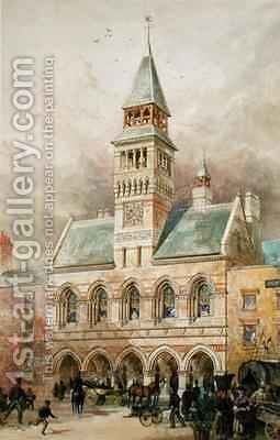 Civic Building by Edward William Godwin - Reproduction Oil Painting