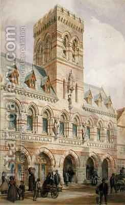 Congleton Town Hall by Edward William Godwin - Reproduction Oil Painting