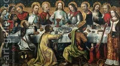 The Last Supper by Godefroy - Reproduction Oil Painting