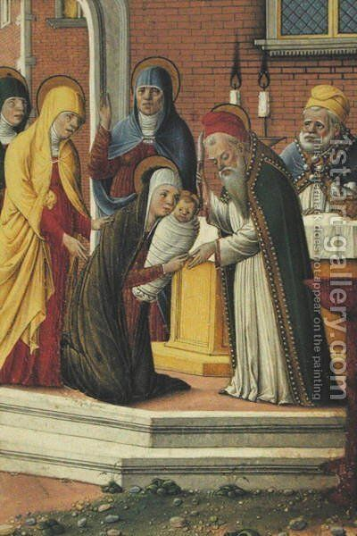 Presentation in the Temple by da Cremona Girolamo - Reproduction Oil Painting