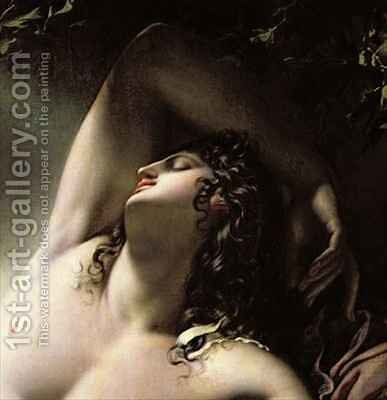 The Sleep of Endymion by Anne-Louis Girodet de Roucy-Triosson - Reproduction Oil Painting