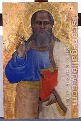 John the Evangelist by Biondo dal Casentino Giovanni del - Reproduction Oil Painting