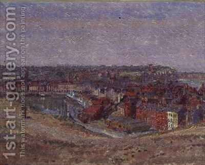 Dieppe by Harold Gilman - Reproduction Oil Painting
