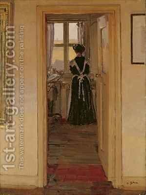 The Kitchen by Harold Gilman - Reproduction Oil Painting
