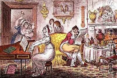 Matrimonial Harmonics by James Gillray - Reproduction Oil Painting