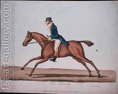 The Dandy 2 by James Gillray - Reproduction Oil Painting