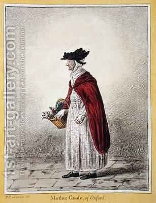 Mrs Rebecca Howse known as Mother Goose of Oxford 2 by James Gillray - Reproduction Oil Painting