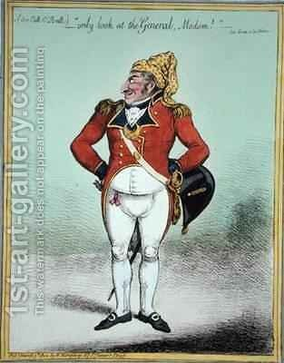 only look at the General Madam 2 by James Gillray - Reproduction Oil Painting
