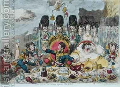 The Hand Writing upon the Wall 2 by James Gillray - Reproduction Oil Painting