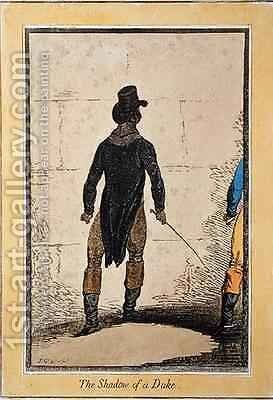 The Shadow of a Duke 2 by James Gillray - Reproduction Oil Painting