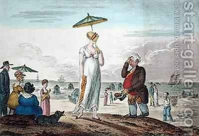 A Calm by James Gillray - Reproduction Oil Painting