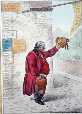 Orange Jumper by James Gillray - Reproduction Oil Painting